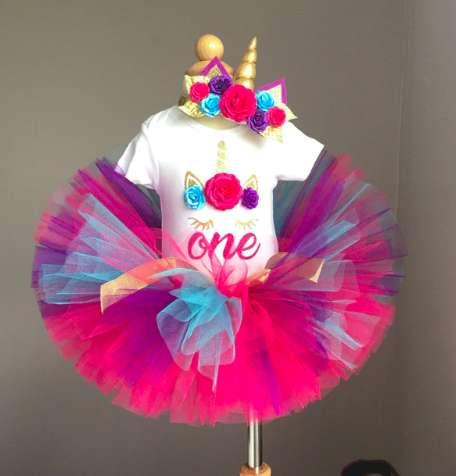 Vestidos Para Niñas Mi Primer Año. Envios Gratis Colombia