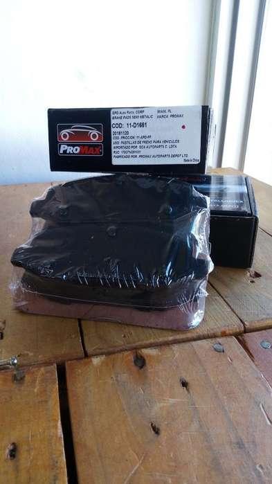 Pastilla de Freno Chevrolet Sail 1.4 12-