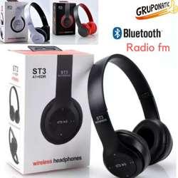 Audifonos Bluetooth 4.2 Radio FM slot Sd Gruponatic San Miguel Surquillo Independencia La Molina Whatsapp 941439370