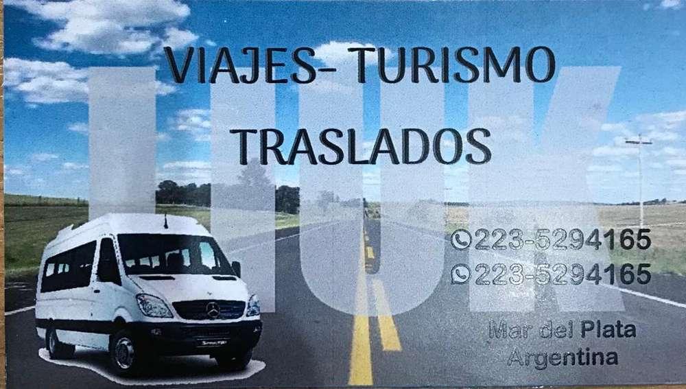 TRASLADOS , VIAJES , TURISMO Mar del Plata