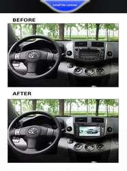 TOYOTA RAV4 2006 @ 2012 AUTORADIO GPS MULTIMEDIA BLUETOOTH MANDO DE TIMON INSTALACION DE EQUIPO