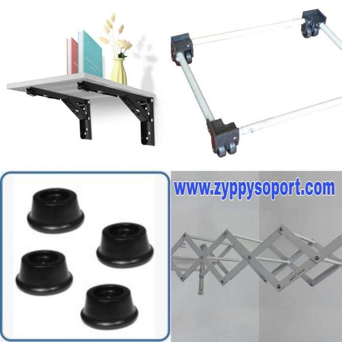 Soportes y accesorios para hogar