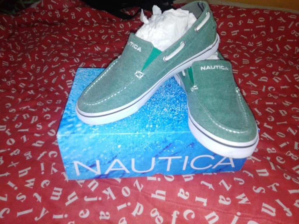 Zapato Nautica Hombre T 41 Nuevo