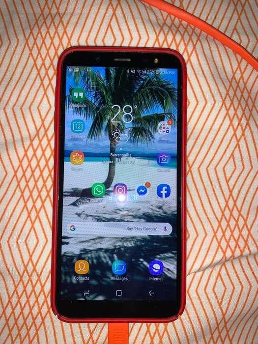 Samsung J6 Como Nuevo