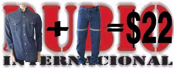Camisa y Pantalon jeans