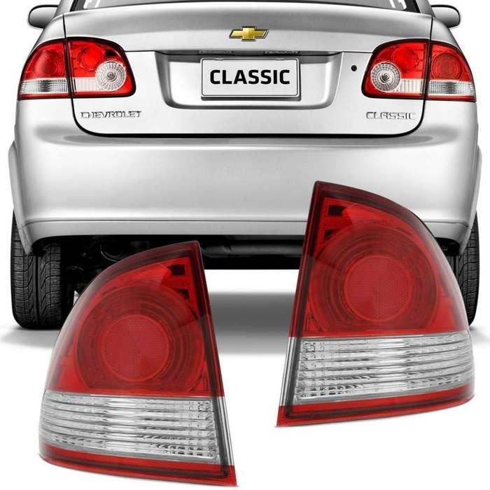 <strong>faros</strong> traseros Exteriores Chevrolet Corsa Classic.