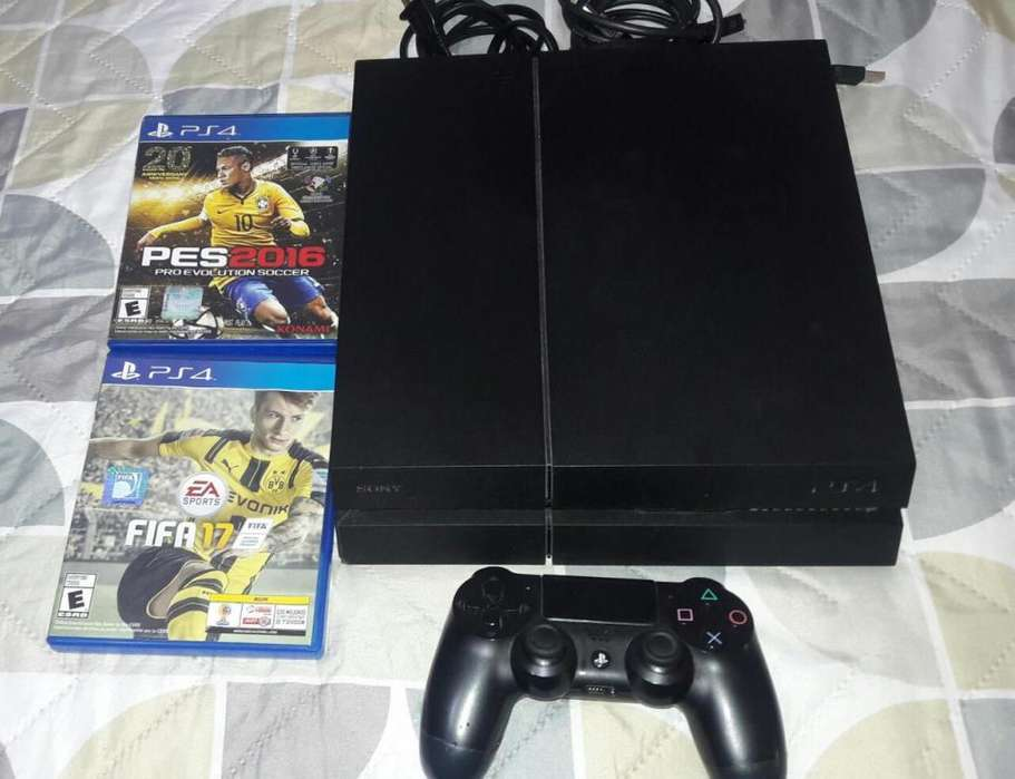 Playstation 4 500 Gb Excelente Estado