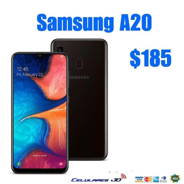 Samsung A20 Gratis Mica 9d