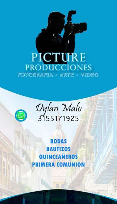 Fotografo Profesional, Y Video