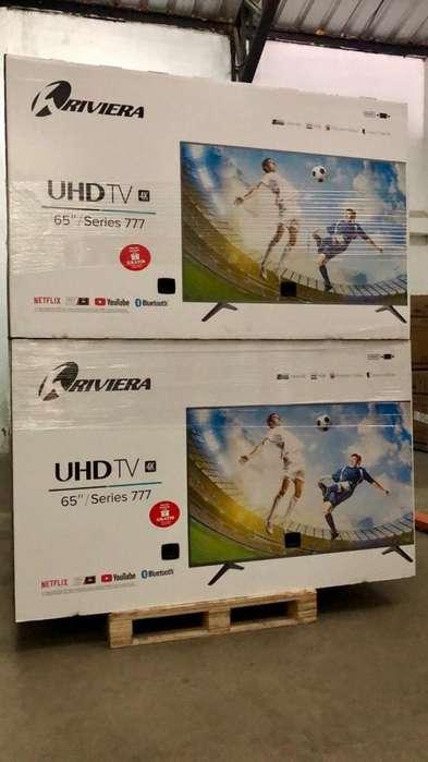 Televisor / SMART TV / RIVIERA / 65 / NEGRO / 4K UHD / HDR