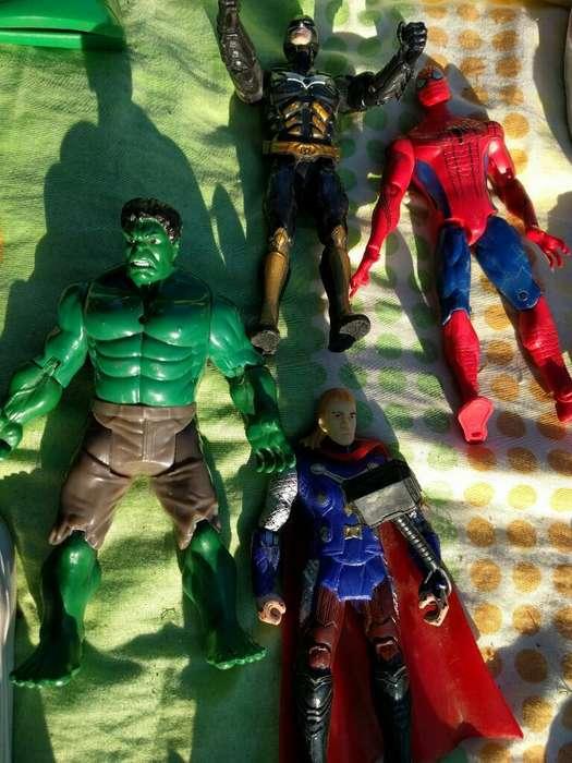 Muñecos Super Heroés