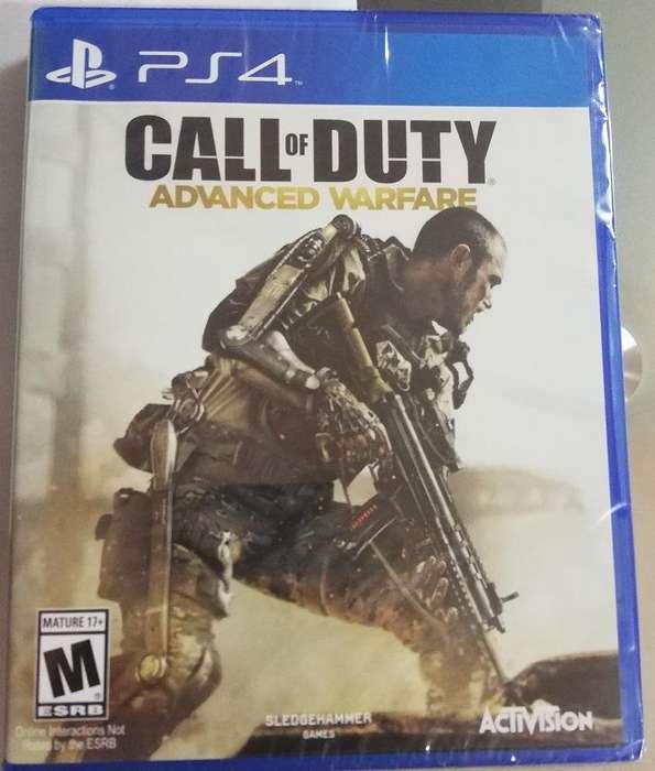 Call Of Duty Advanced Warfare Ps4 juego fisico Nuevo