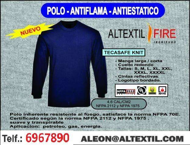 POLO ANTIFLAMA - ANTIESTATICA!!