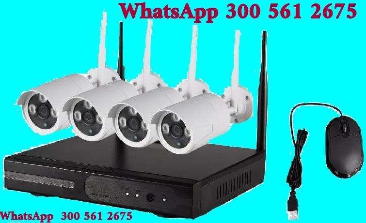 ASEGÚRATE YA!!! INALAMBRICO SIN CABLES SISTEMA CERRADO DE VIGILANCIA GENTE PROFESIONAL WhatsApp 301 400 1453