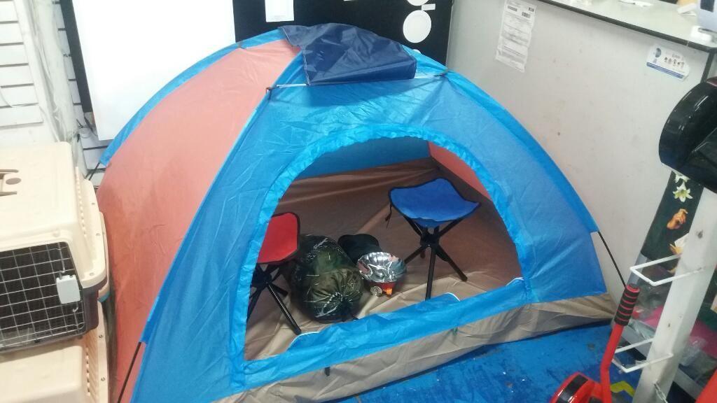 Carpa de camping 2 Personas Nadeportes.