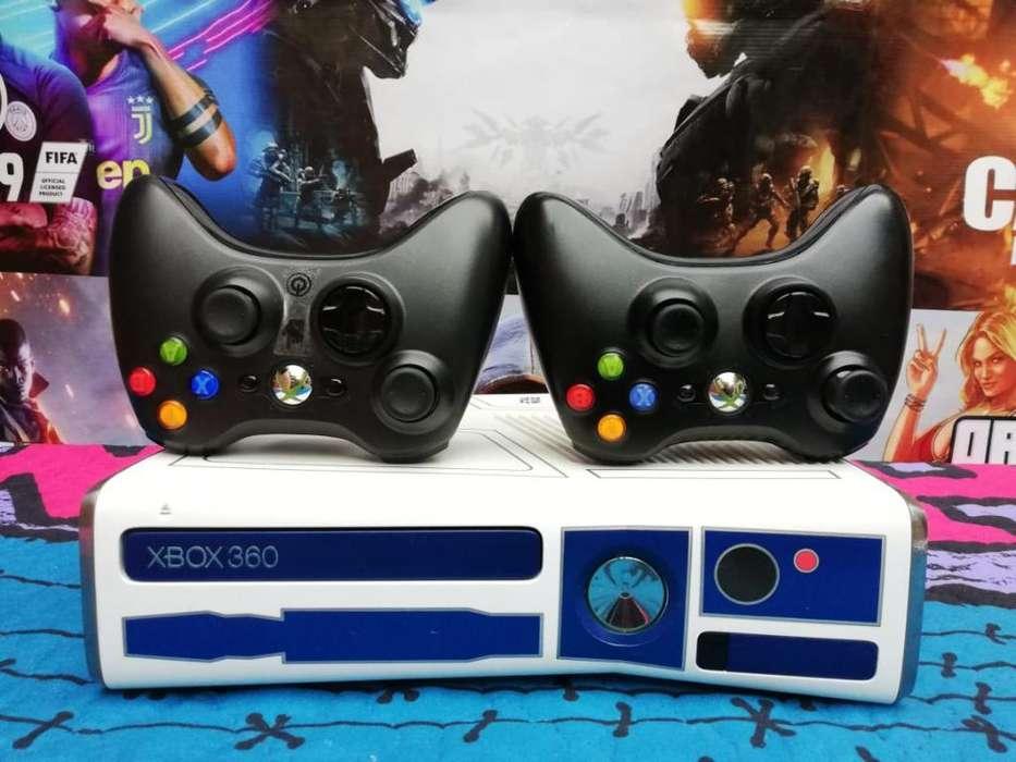 Espectacular Xbox 360 Slim Como Nuevo