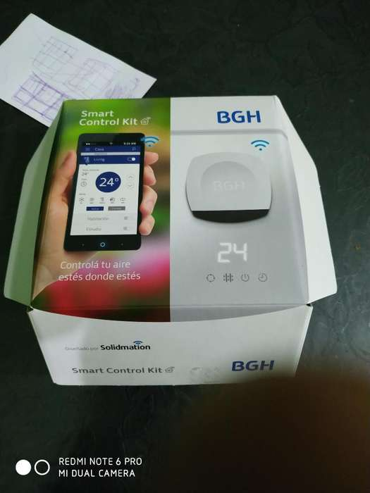 Kit Smart Control Bgh Wifi