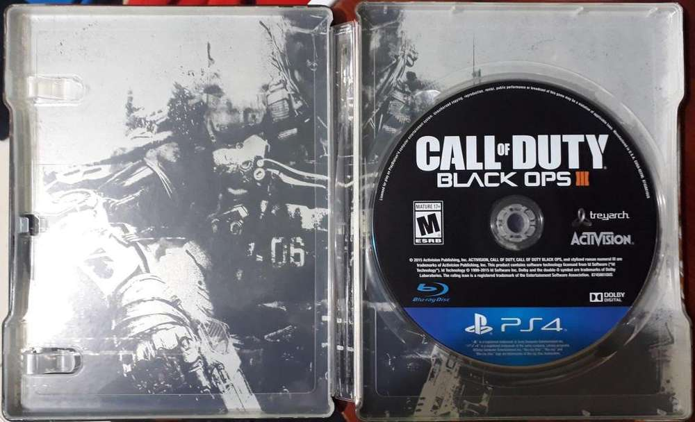 VIDEOJUEGO CALL OF DUTY BLACK OPS 3 PS4