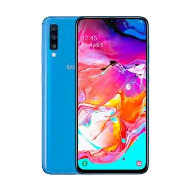 <strong>celular</strong> Samsung A70 128gb Azul