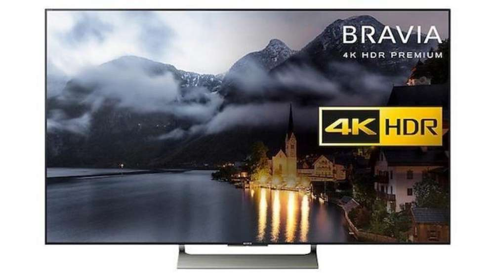 <strong>televisor</strong> Sony 4k Ultra Hd con Hdr