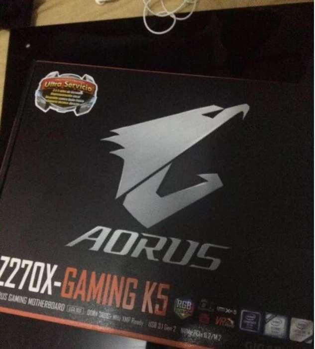 Motherboard, Placa Madre Aorus Z270x Gaming K5 Gigabyte