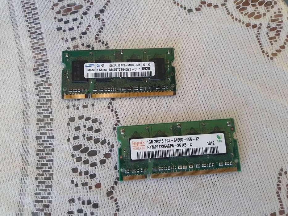 <strong>memoria</strong> RAM DDR2 1GB PARA LAPTOP