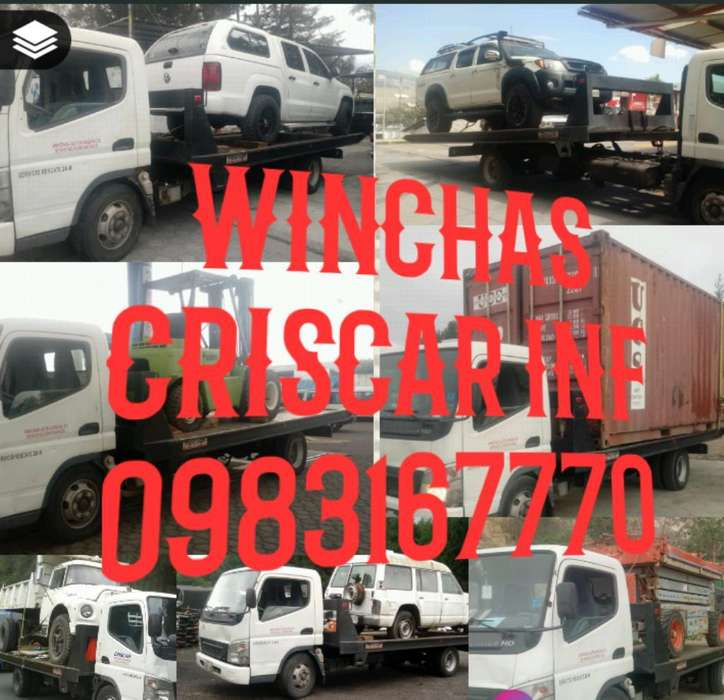 Winchas en Quito Inf 0983167770