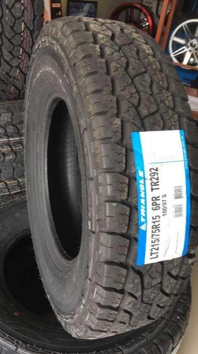 Llanta Rin 15 215/75/R15 Para Camioneta