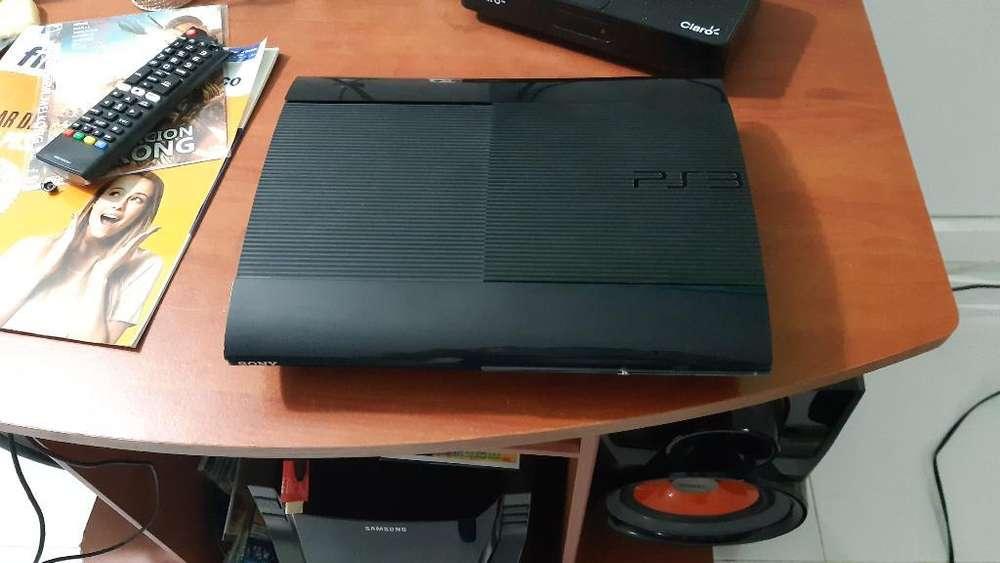 Play 3 Slim 500gb 40 Juegos 1 Control