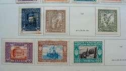 Sellos postales de Ucrania 1917 – 1920