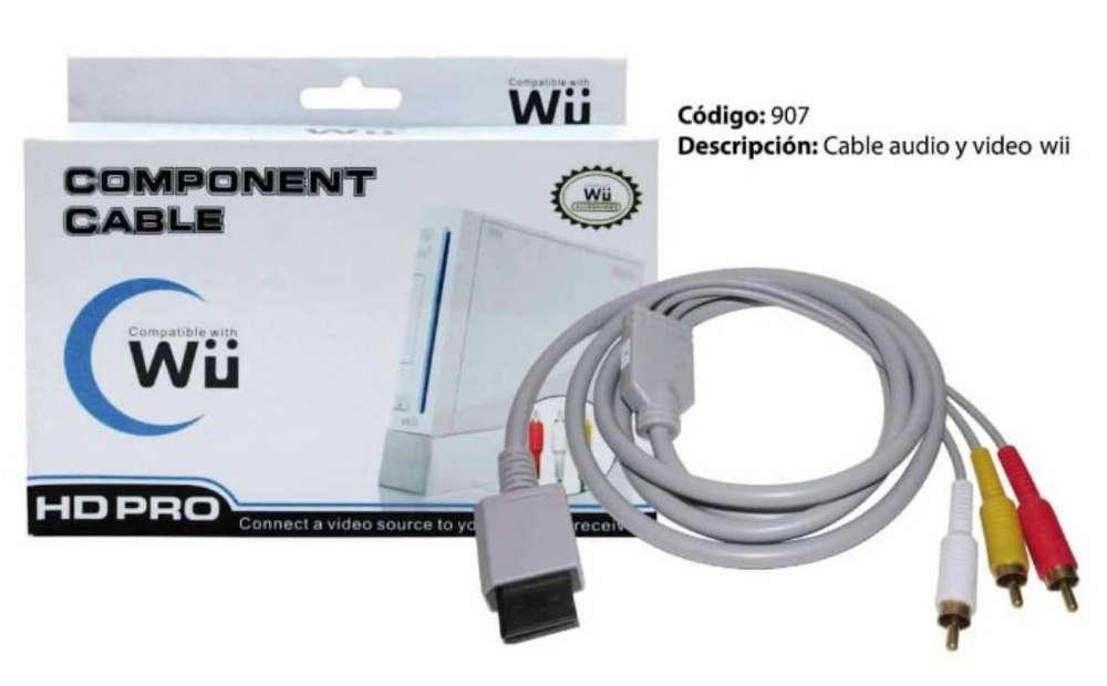Audio Video Y Componente de Wii