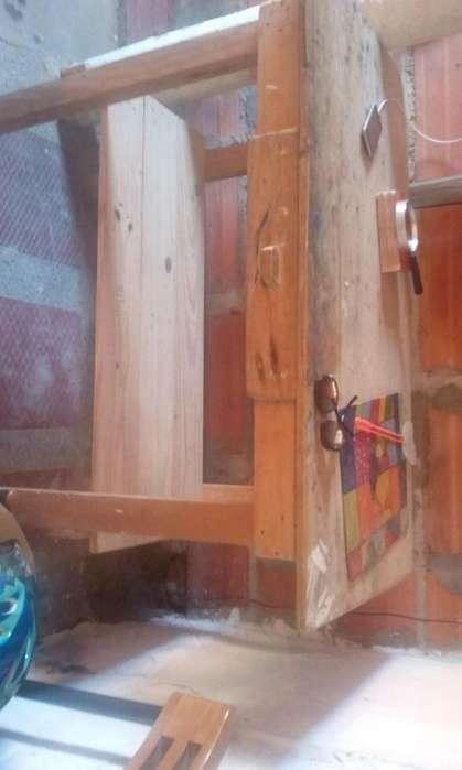 Vendo mesa grande de buena madera