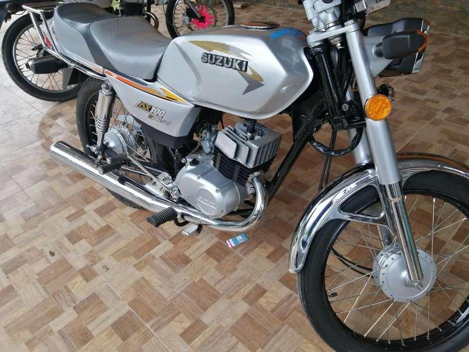 Vendo Zuzuki Ax100 Como Nueva