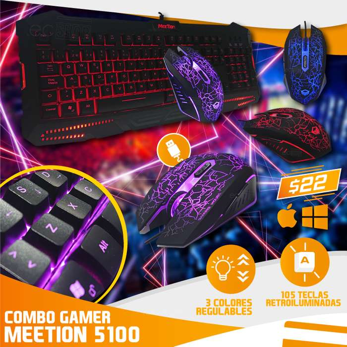 COMBO GAMER MEETION MT-5100