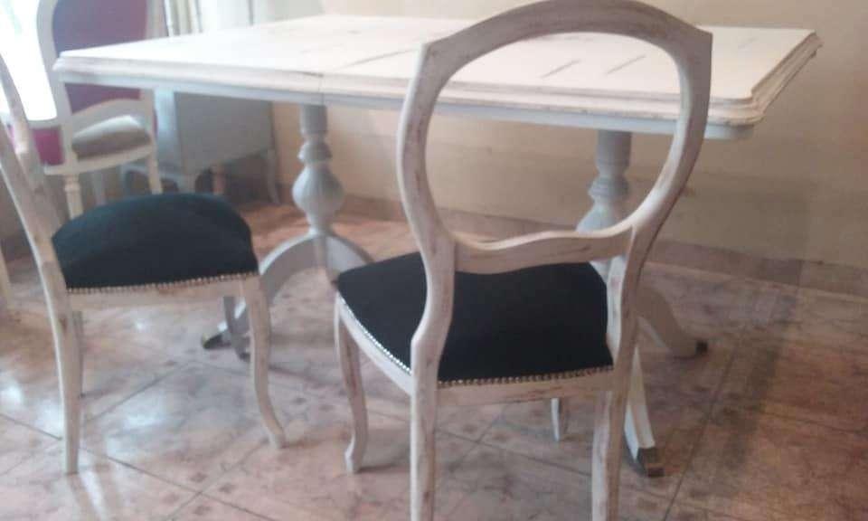vendemos varios juegos de 4 <strong>sillas</strong> / restauradas a nuevo