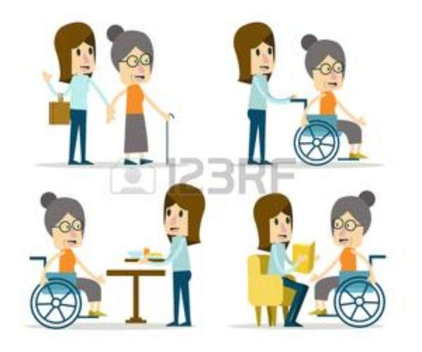 Busco Empleo de Cuidados de Gente Adulta