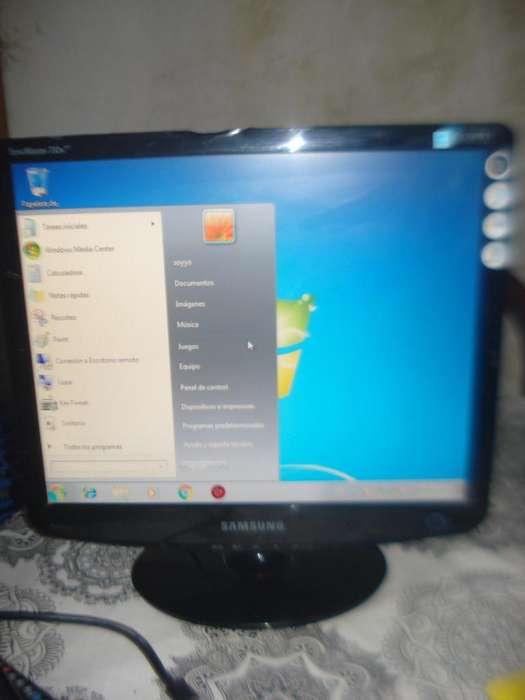 Monitor Color Lcd 17 Samsung 732nsplus Funcionando No Envio