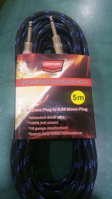 Cable para Guitarra 5 Metros