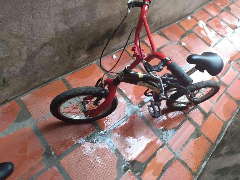 Bicicleta Rin 16 y otra rin 24