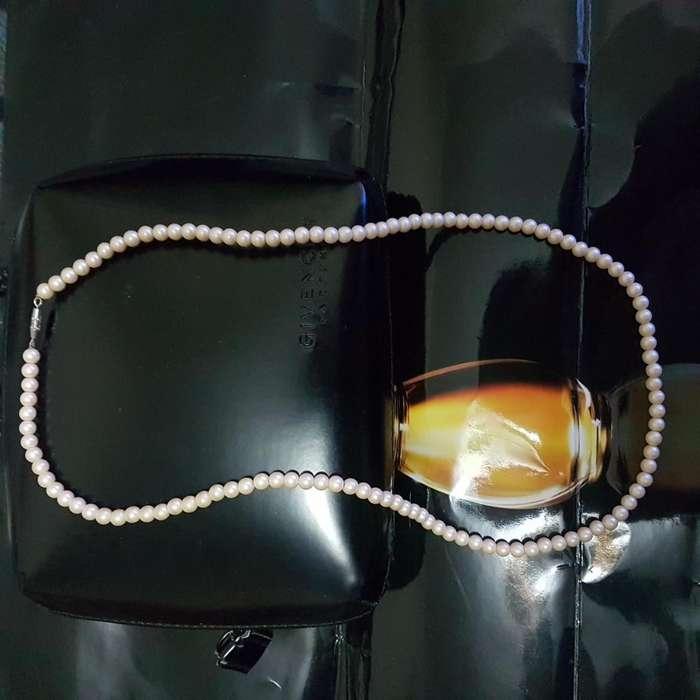 Collar de Perlas Cultivadas Nuevo Mikimoto Arequipa