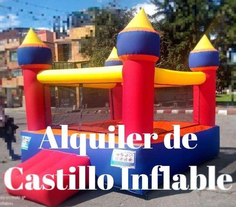 Alquiler de Castillo Inflable Para Niños