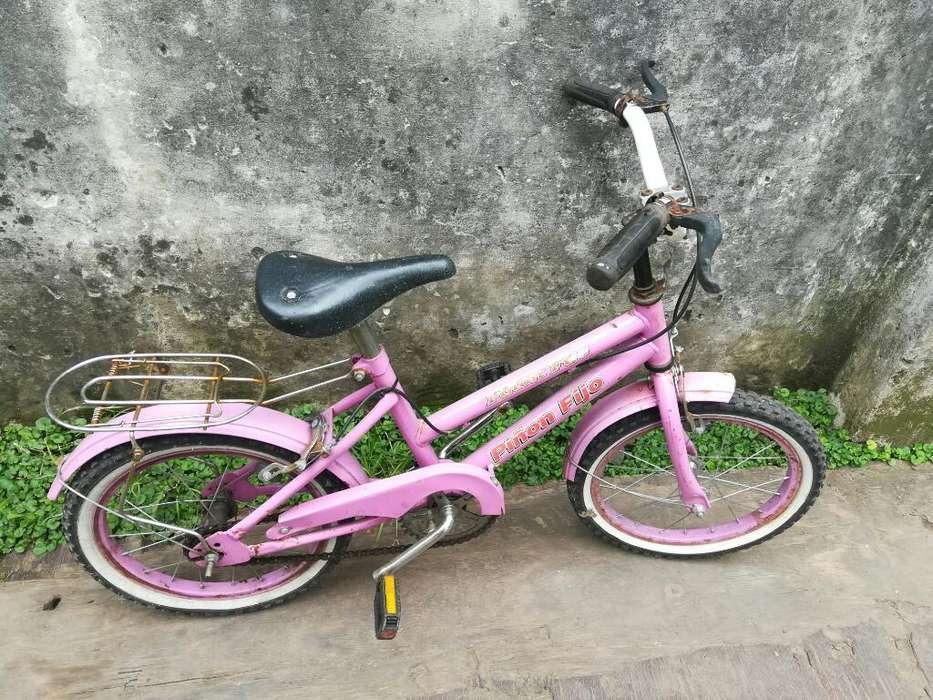 Bicicleta Rod. 16 Usada, Nena