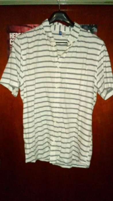 <strong>camisa</strong> Rayada L Importada Nueva