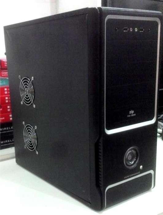 PC CPU AMD SEMPRON 2.7GHZ, 2GB, 160GB, GABINETE NUEVO. WIN 7. EXCELENTE!!