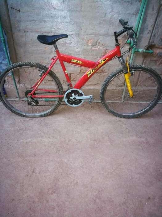 Vendo Bicicleta Usada.