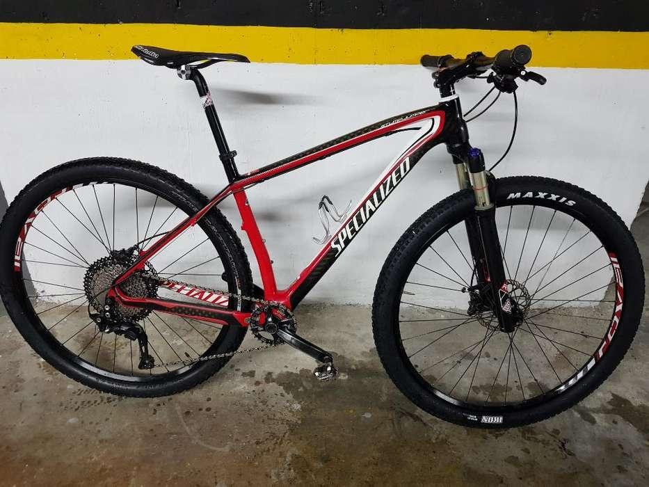 bicicleta montaña Specialized Stumpjumper Carbón R29 Impecable!!