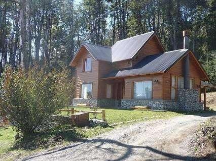 kq55 - Casa para 2 a 5 personas con cochera en Villa La Angostura