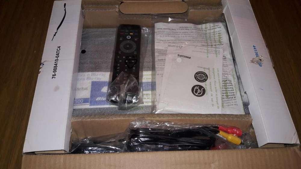 REPRODUCTOR DE BLURAY DVD MARCA PHILIPS BDP2500/55 SIN USO EN CAJA