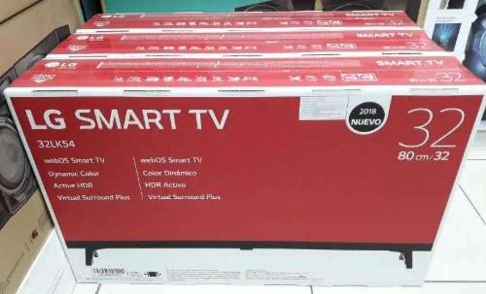 Lg Smart 32 Fhd Lk54 de Paquete