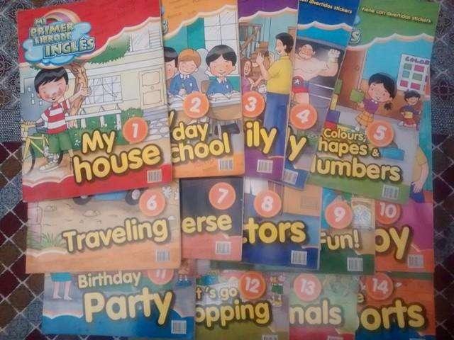 Libros de Inglés para Niños